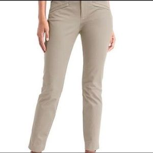 NWT Gap Skinny Ankle Bi-Stretch Khaki Pants